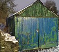 It's About Time I Painted The Shed - geograph.org.uk - 1630780.jpg