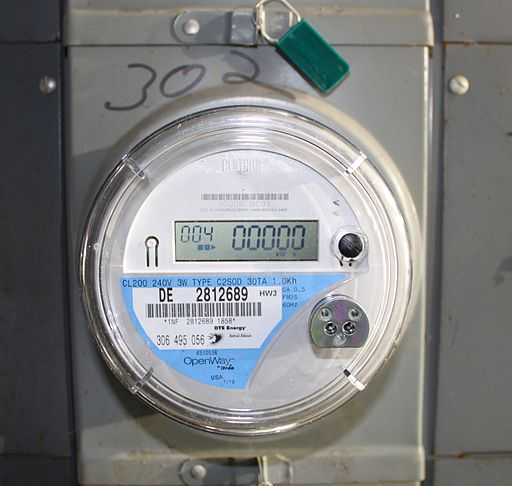 Itron OpenWay Electricity Meter with Two-Way Communications