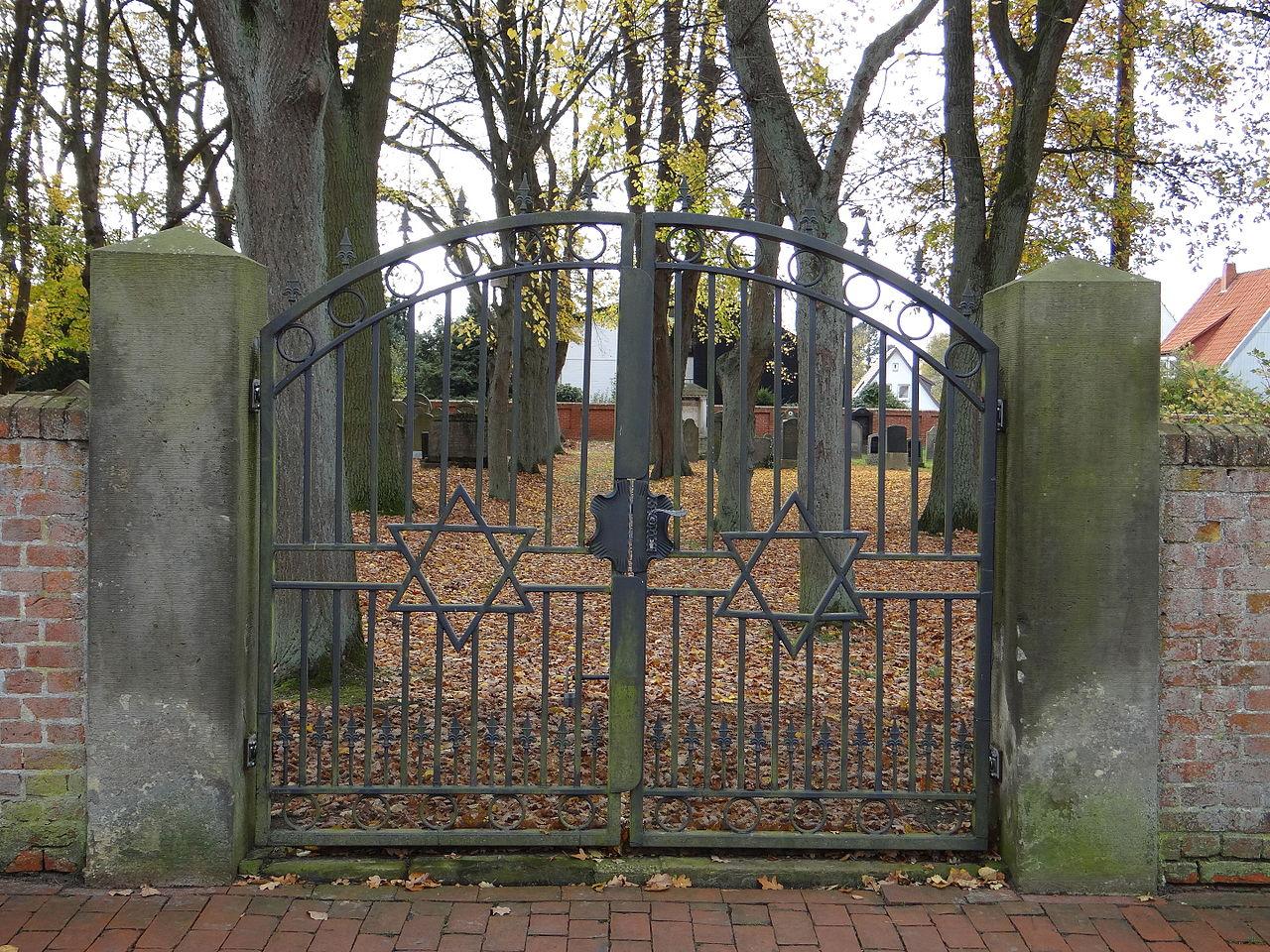 Jüdischer Friedhof Verden, Eingangstor, 5459.jpg