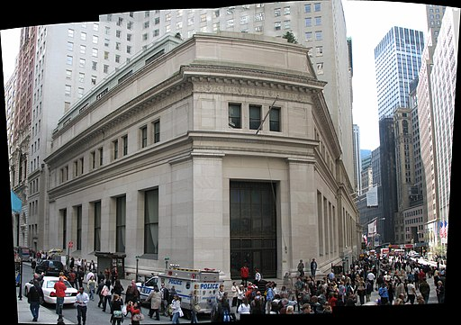 J. P. Morgan & Co. Building panorama (1780915415)
