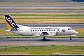 JA8704 Saab SF.340B JAC Japan Air Commuter ITM 25MAY03 (8497550860).jpg