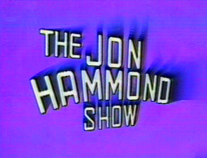 JON HAMMOND Show title 24th year