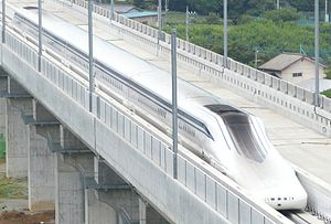 JR Central SCMaglev L0 Series Shinkansen 201408081006.jpg