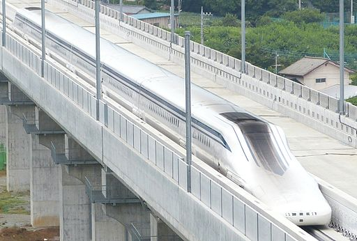 JR Central SCMaglev L0 Series Shinkansen 201408081006