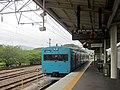 JR West 113-2000 series at Gobo Station.jpg