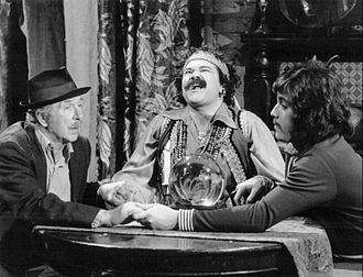 Chico and the Man - Avery Schreiber (center) is a very unsuccessful fortune teller Ed and Chico try giving a hand.
