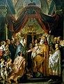 Jacob Jordaens (I) - Opdracht in de tempel (Simeon en Anna) (Lucas 2-22-40) - Gal.-Nr. 1012 - Staatliche Kunstsammlungen Dresden.jpg