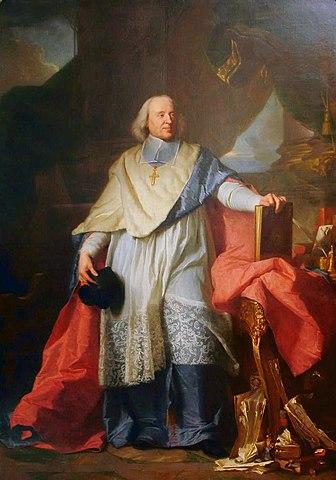 Ясент Риго, портрет епископа Боссюэ, Лувр