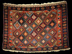 Jaff - Jaf Kurdish bag, Persia, mid 19th century
