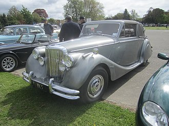 Jaguar Mark V - Image: Jaguar Mk V Drophead Coupe