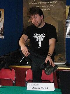 Jakub Ćwiek Polish writer