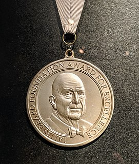 James Beard Foundation Award Annual awards presented for excellence in cuisine, culinary writing, and culinary education in the US