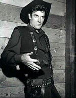 James Best, l'interprète de Rosco Coltrane (ici dans Frontier en 1955)