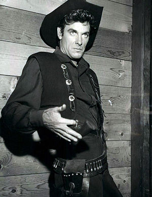 James Best - Best appeared twice on NBC's western television series, Frontier.