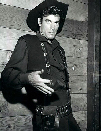 James Best - Best on NBC's Western  series Frontier, c. 1956