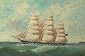 James H. Wheldon - The Clipper Ship 'Superb' off Yorkshire, 1866.jpg