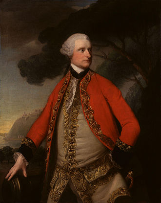 James Murray (British Army officer, born 1721) - James Murray in later life