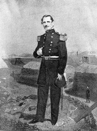 James Shields (politician, born 1806) - Shields as brigadier general during the Mexican–American War