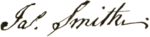 James Smith signature.png