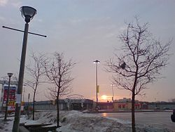 Sunrise at the Jane Finch Mall