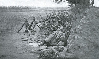 Battle of Shaho - Japanese Troops in the Battle of Shaho.