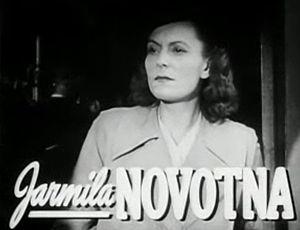 Jarmila Novotná - Jarmila Novotná in the trailer for The Search (1948)