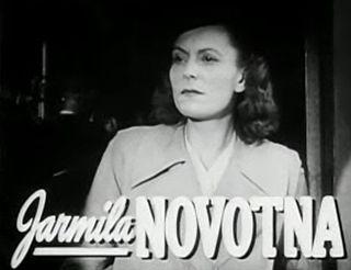 Jarmila Novotná Czech actress, opera singer and singer