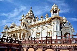 Jodhpur - A view of Jaswant Thada