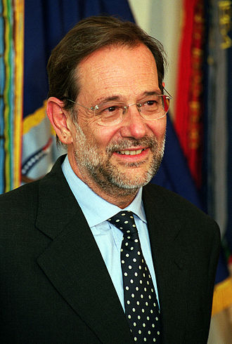 Western European Union - High Representative Javier Solana (September 1999)