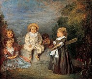 Jean-Antoine Watteau - Heureux age! Age d'or (Happy Age! Golden Age) - Google Art Project.jpg