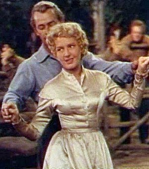 Shane (film) - Alan Ladd and Jean Arthur