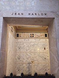 Jean Harlow Grave.JPG