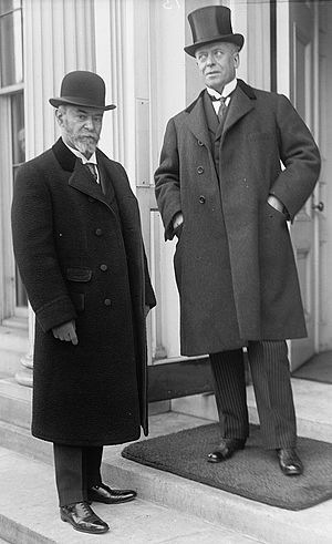 Eugène Brieux - Jean Jules Jusserand and Eugène Brieux (1914).