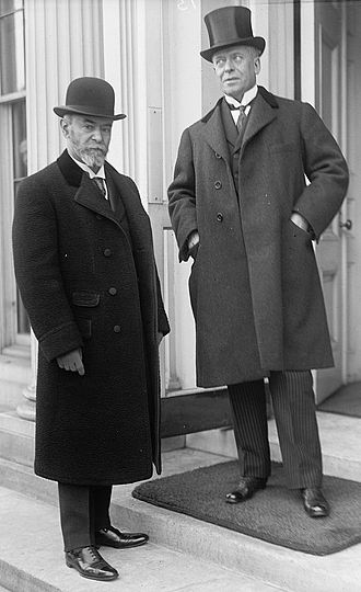 Eugène Brieux - Jean Jules Jusserand (left) and Eugène Brieux (1914).
