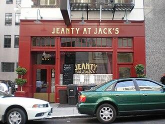 Jack's Restaurant - Image: Jeanty at Jack's front