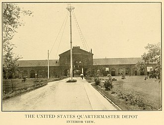 Jeffersonville Quartermaster Depot - Pre-1909 picture of Depot.