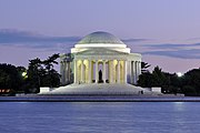 Jefferson Memorial At Dusk 1.jpg