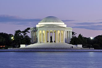 Jefferson Memorial - Jefferson Memorial at dusk