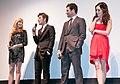 Jennifer Westfeldt, Adam Scott, Jon Hamm, Megan Fox 2011.jpg