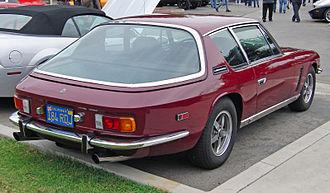 Jensen Interceptor - Image: Jensen Interceptor III rear