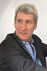 The photo shows Jeremy Paxman, host of University Challenge