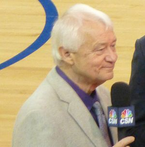 Jerry Reynolds (basketball, born 1944) - Reynolds at the Oracle Arena in 2013