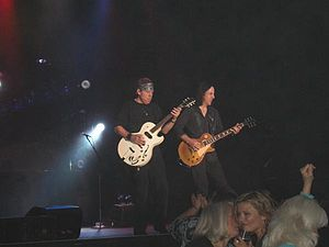 George Thorogood - Thorogood and Jim Suhler performing in 2010.