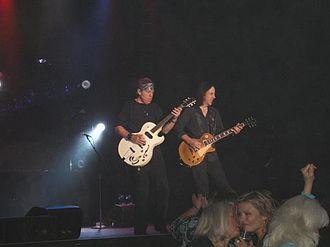 George Thorogood - Thorogood and Jim Suhler performing in 2010.