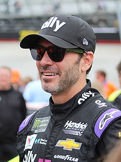 Jimmie Johnson American racing driver