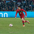 Joao Pereira – Portugal vs. Argentina, 9th February 2011 (1).jpg