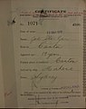 Joe She Gar Auckland Chinese poll tax certificate butts Certificate issued at Auckland.jpg