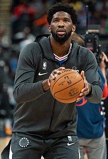 Joel Embiid Cameroonian basketball player