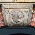 Johanneum (Hamburg-Winterhude).Bauschmuck.Weinberger.Arkaden.Werksteinrelief 2.Aphrodite.21907.ajb.jpg