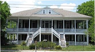 Dr. John B. Patrick House - Dr. John B. Patrick House, May 2010